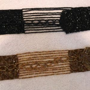 Beautiful beaded dressy belts to spruce up outfit